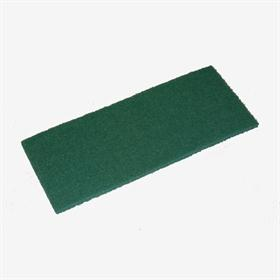 Non-woven sanding product. - Non-woven sheet for pre-polishing lacquered surfaces and for metal cleaning.