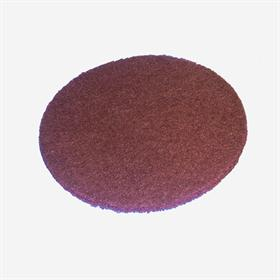FSAD V.F. aluminium oxide (red). Non-woven product. - Non-woven velcro disc for pre-polishing lacquered surfaces and for metal       cleaning.
