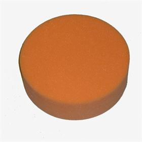Velcro polishing pad. Hard (orange). - For polishing all lacquered surfaces (boat, automotive and furniture industries)