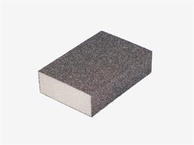 Sanding block abrasive, coated on 4 sides. - Blocks can be used for sanding and smoothing wood, metal, paintwork, etc., ideal for profiles and flat surfaces.